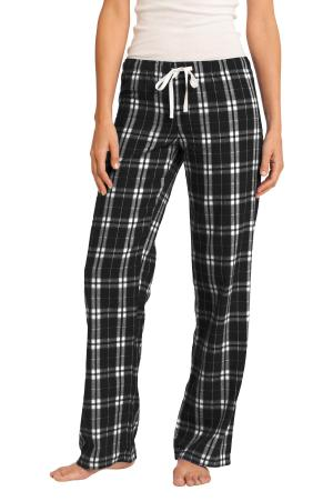 District Women's Flannel Plaid Pant. DT2800