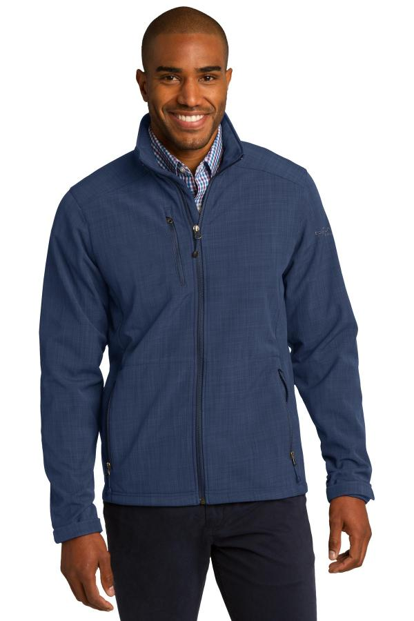 Eddie Bauer Shaded Crosshatch Soft Shell Jacket. EB532