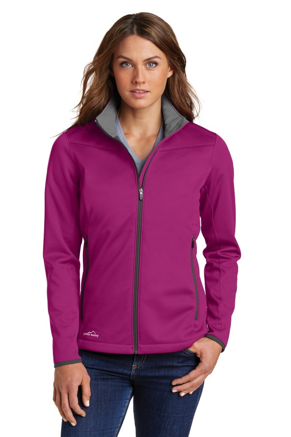 Eddie Bauer Ladies Weather-Resist Soft Shell Jacket. EB539