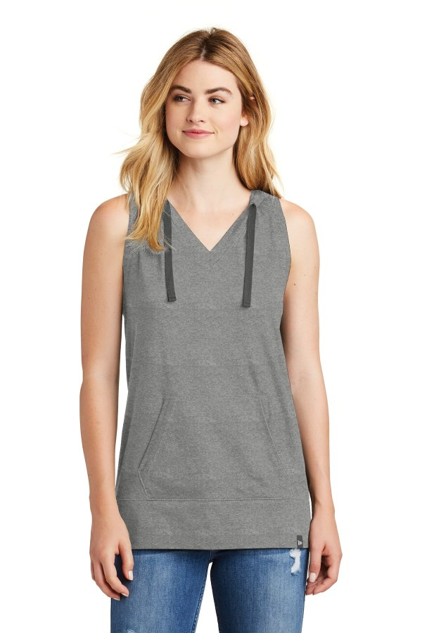 New Era  Ladies Heritage Blend Hoodie Tank. LNEA106