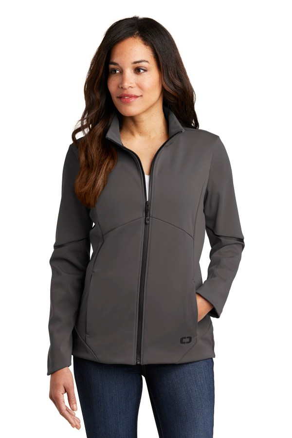 OGIO  Ladies Exaction Soft Shell Jacket. LOG725