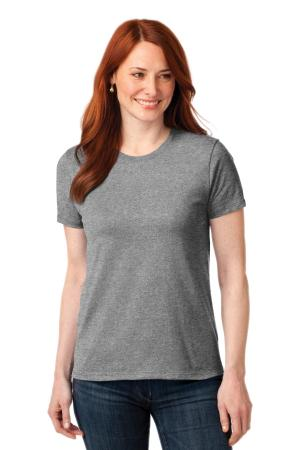 Port & Company Ladies Core Blend Tee. LPC55