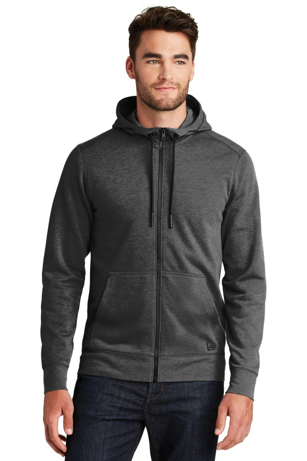 New Era  Tri-Blend Fleece Full-Zip HoodieNEA511