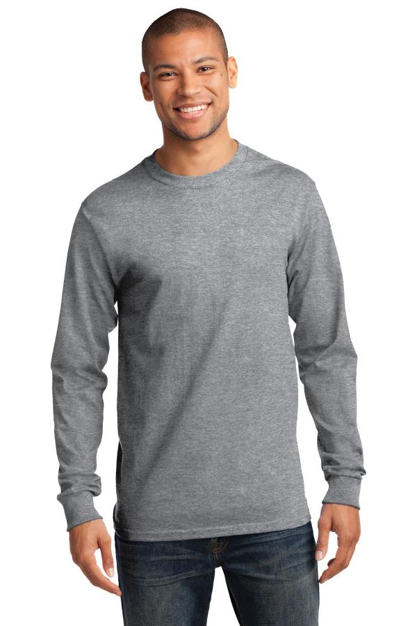 Port & Company - Long Sleeve Essential Tee. PC61LS