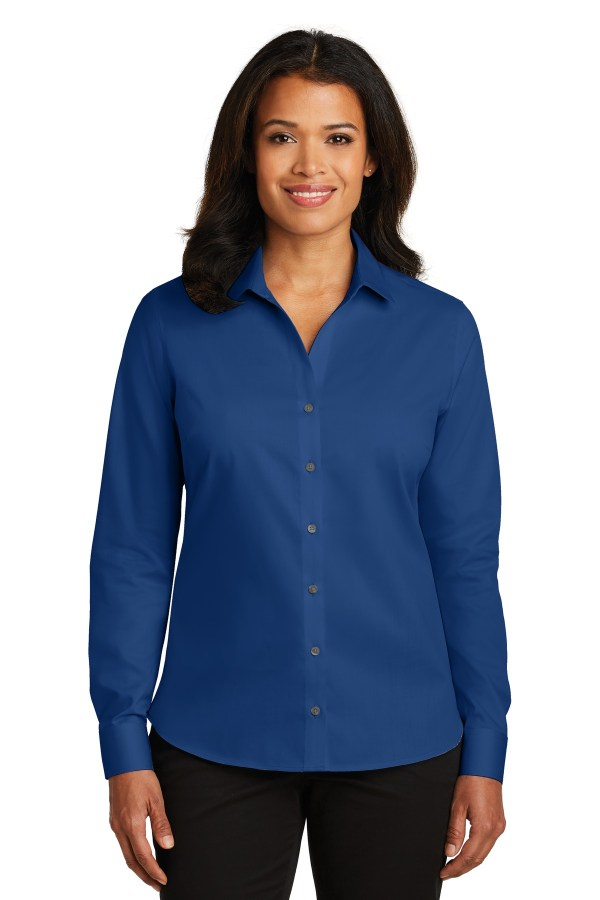 Red House Ladies Non-Iron Twill Shirt. RH79