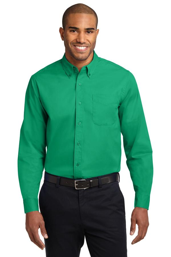 Port Authority Extended Size Long Sleeve Easy Care Shirt.   S608ES