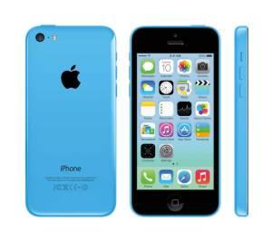 iPhone 5c blau, Quelle: Apple