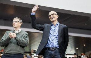 Nadella-und-Bill-Gates