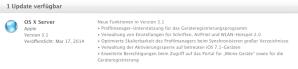 OS X Server 3.1-Update