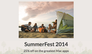 Summerfest2014-Screenshot. Quelle: DEVONtechnologies