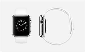 Bildschirmfoto Apple Watch weiß. Quelle: Apple