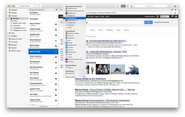 WebConnector für das Daylite Mac CRM. Quelle: iOSXpert Ltd.