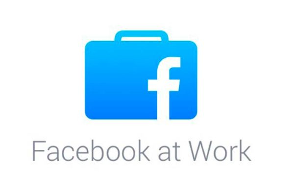 iOS-App icon von facebook at work. Quelle: Facebook