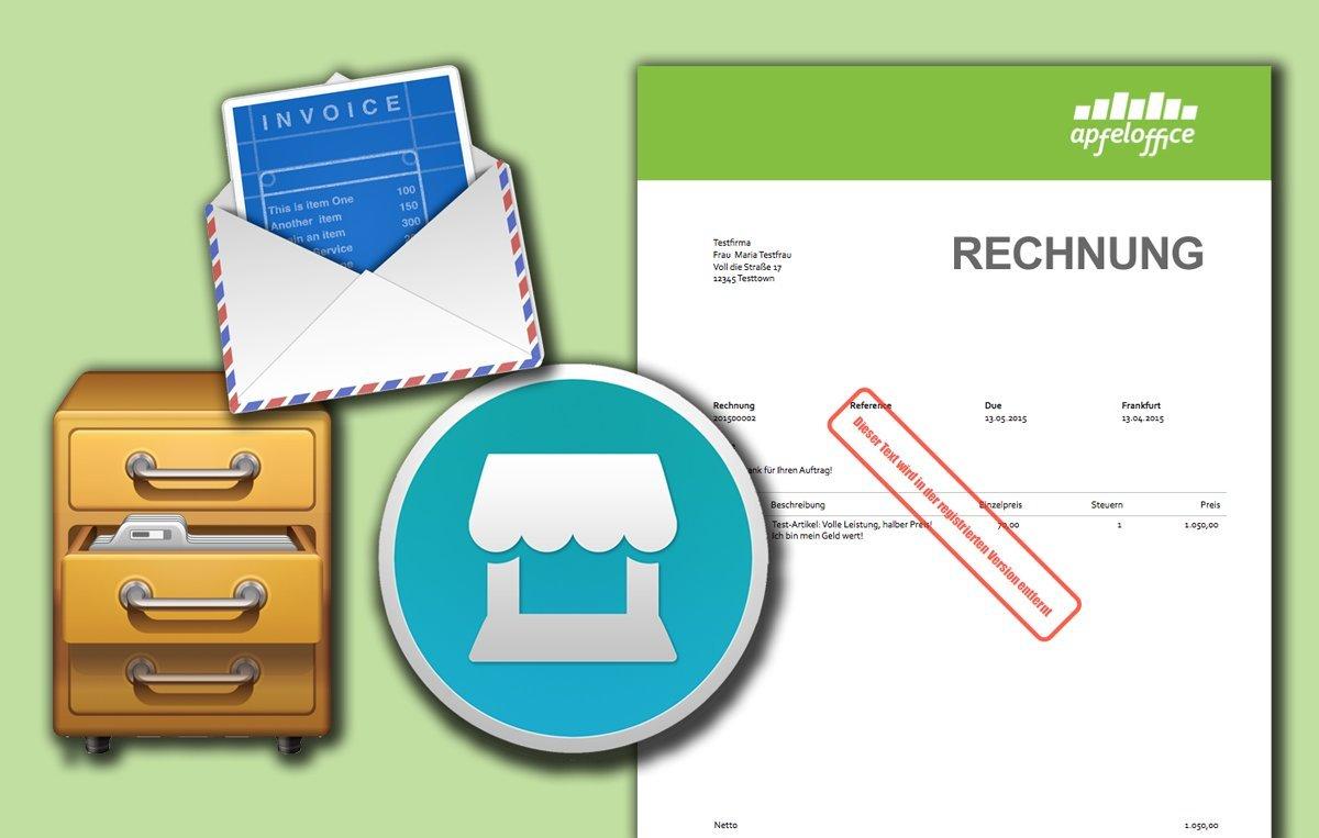 Test: Rechnungen am Mac schreiben mit 3 klasse Apps zwischen 39 und 139 EUR
