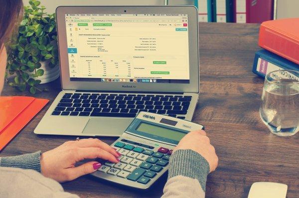Buchhaltung am Mac. Quelle: Pixabay