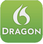 Icon Dragon Dictate für Mac. Quelle: www.nuance.de / Mac App Store