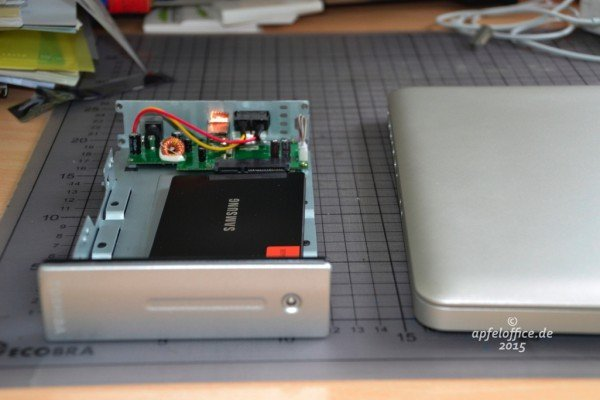 Die interne HDD auf die neue SSD vor dem Einbau in das Macbook Pro zu klonen macht Sinn!