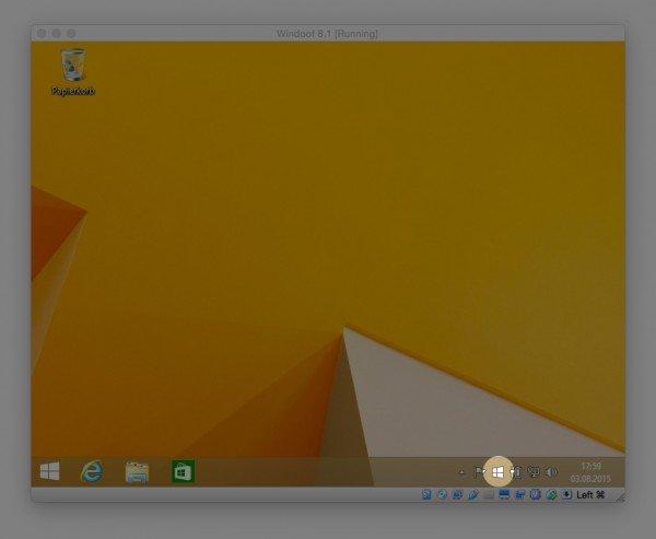 Die Windows 10 Vorbestellung läuft über eine separate App unter Windows 8.1
