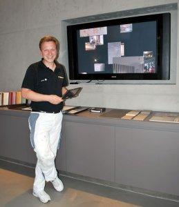 Das Apple TV als Präsentations-Plattform für den Point-of-Sale im Showroom