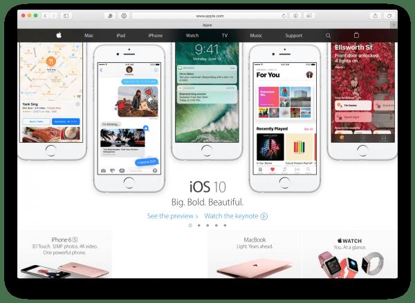 iOS 10 kommt im Herbst 2016 im neuen Design, Public Beta ab Juli. Quelle: Apple