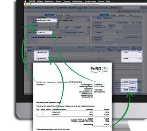 ZUGFeRD Rechnung am Mac oder PC – automatischer Rechnungsimport stellt korrekte Daten sicher