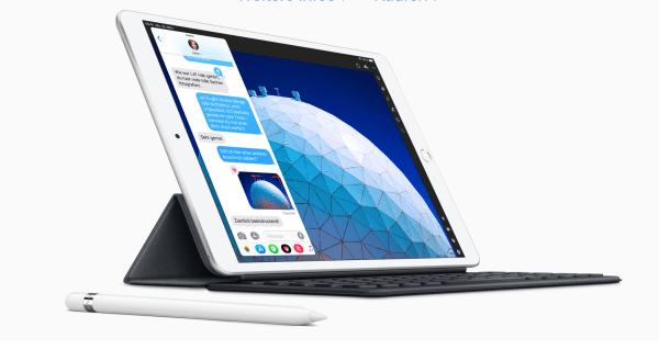 iPad Air 3 mit Pencil-Unterstützung. Quelle: Apple