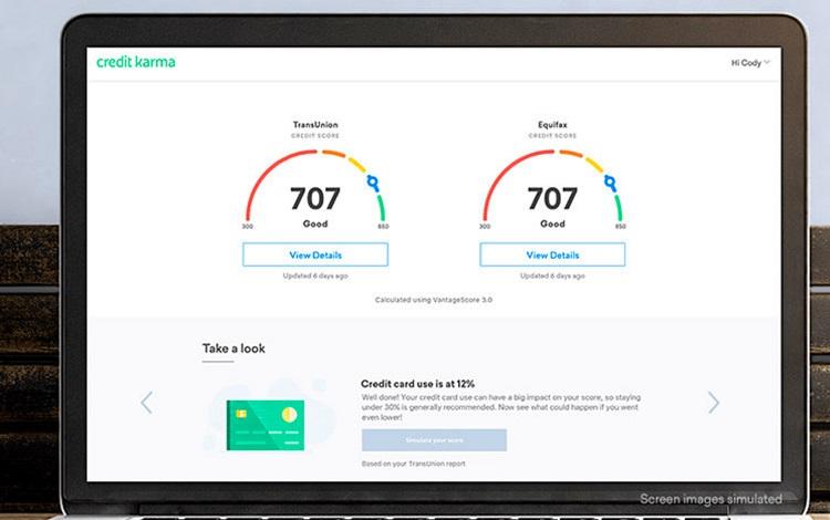 credit carma score result