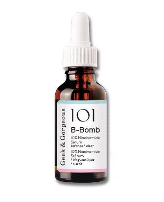 Serum Niacinamida 10% y Zinc 1% B-Bomb de Geek & Gorgeus
