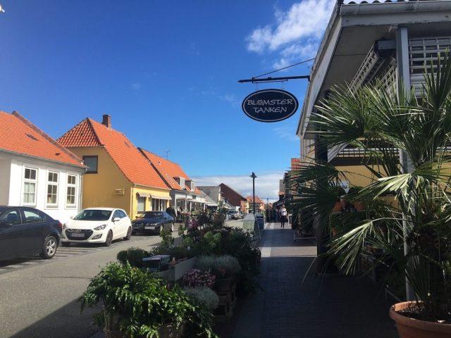 Die Vesterbrogade in Gilleleje