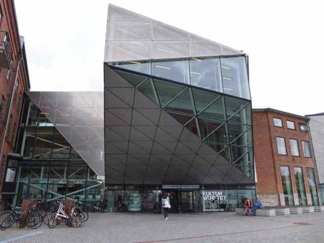 Das moderne Gebäude der Kulturwerft bzw. der Culture Yard in Helsingør