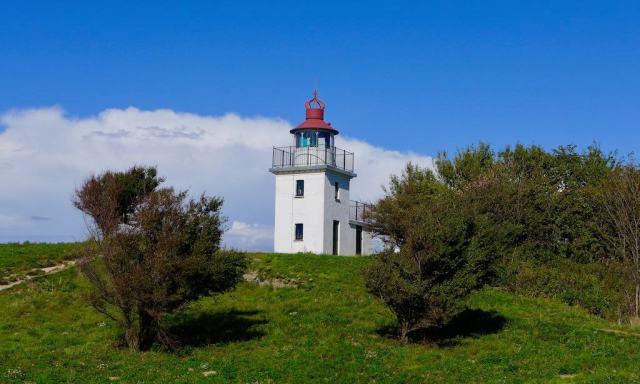 Der Spodsbjerg Leuchtturm in Hundested