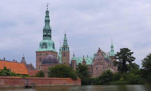 Das Frederiksborg Schloss ganz nah. Ein tolles Ausflugsziel in Nordseeland