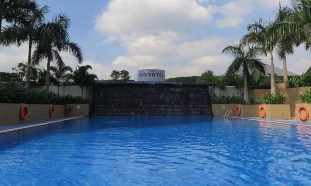 Der Pool vom Novotel, Quezon Manila