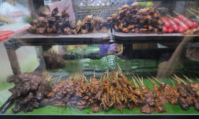 Philippinischer Street BBQ-Stand