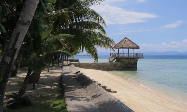 Strand vom Les Maisons D'Itac