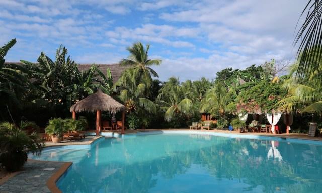 Casa Coco Pool vom Coco Grove Beach Resort auf Siquijor