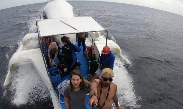 Seife auf der Coco Adventurer beim Ausflug zur Turtlemania nach Apo Island