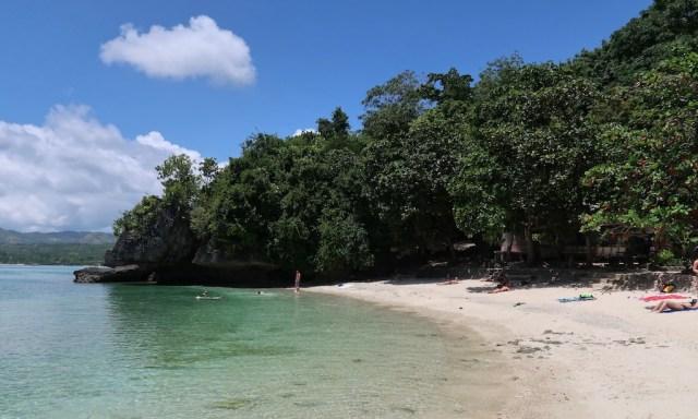 Badestrand des Salagdoong Beaches
