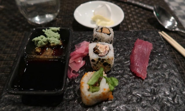 Sushi Dinner Buffet im Spiral Restaurant im Sofitel Manila