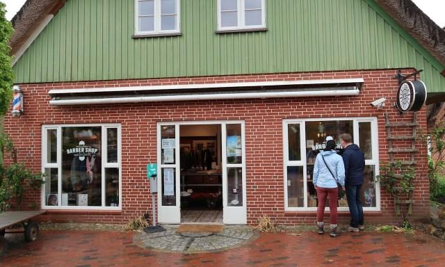 Barber Shop, Klamottenstore im Stadtteil Dorf in Sankt Peter-Ording