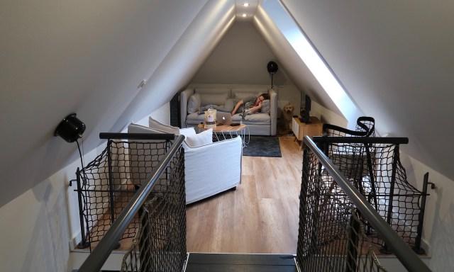 Wohnbereich Unterkunft Bilge (Kajüte 7) in Sankt Peter-Ording