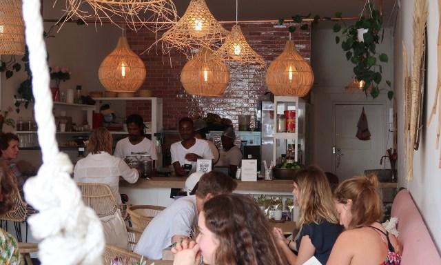 Die vegane Conscious Kitchen in der Kloof Street, Kapstadt