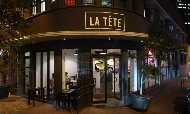 Das Restaurant La Tête von außen