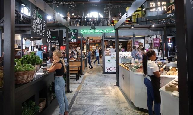 V & A Food Market oder Food Court