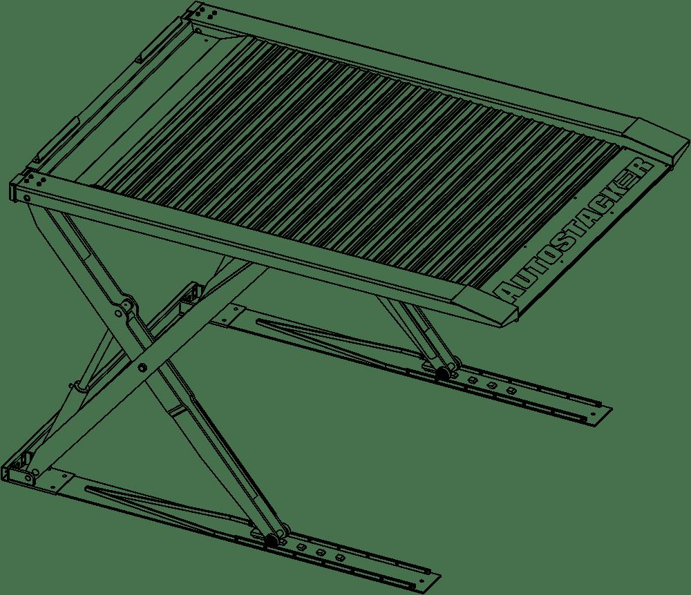 BendPak AutoStacker PL‐6SRX Car Parking Lift Platform