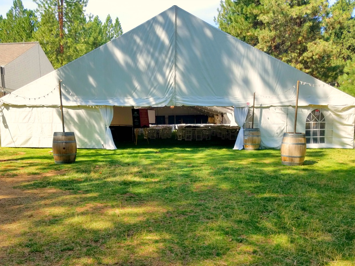 Tent And Chair Rentals Structure Keder Tents Bend Party Rentals Bend Oregon