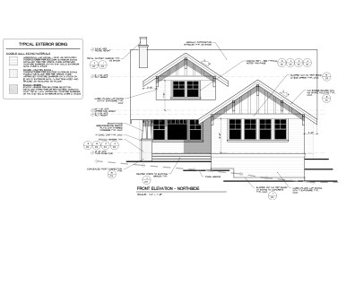 Lot 835 - North Elevation