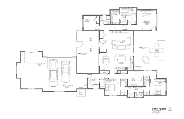 Tetherow Lot 80 - Floorplan