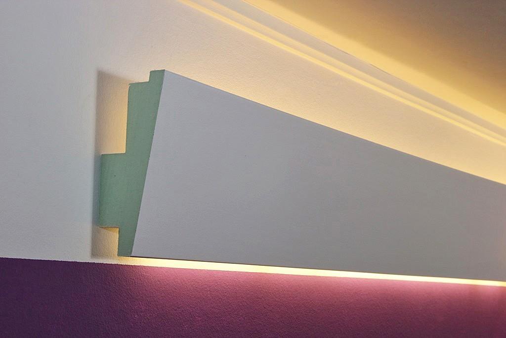 LED Stuckprofil WDML65BPR fr indirekte Beleuchtung