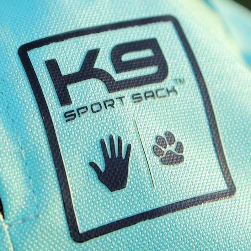 k9 sport sack 2019 logo close up